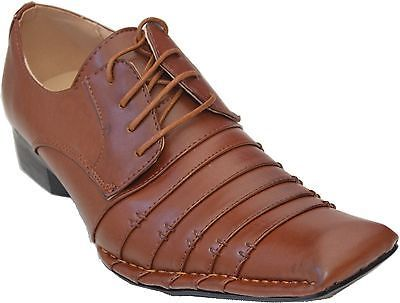New men's lace-up #oxfords #wedding #formal church party dress shoes brown -harle,  View more on the LINK: http://www.zeppy.io/product/gb/2/171312423751/