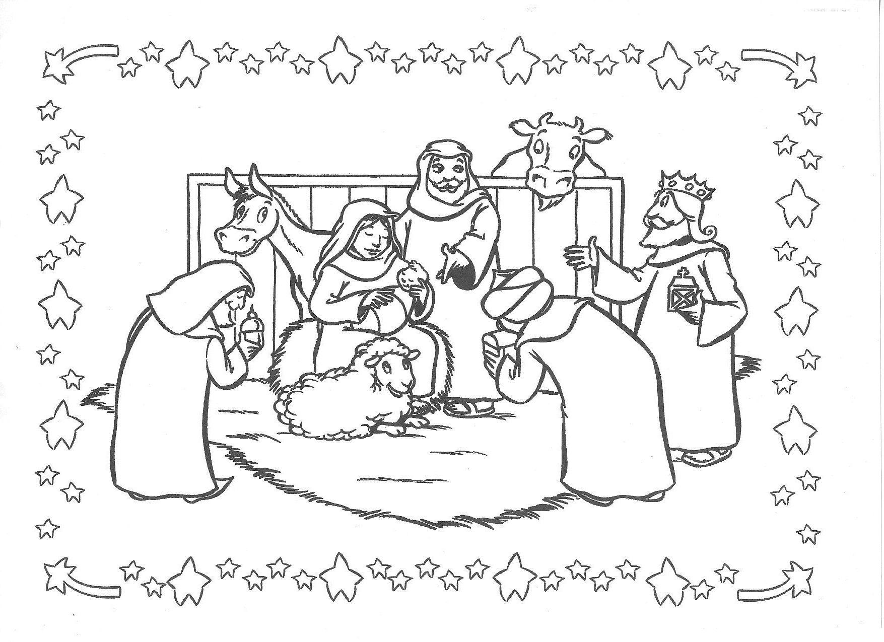 Kerst Kerst Knutselen Kerstkleurplaten