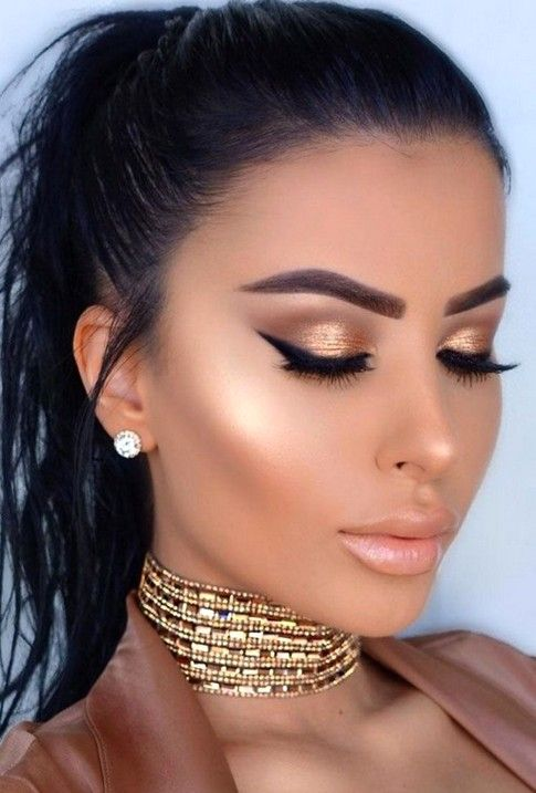 51 Gorgeous And Eye Catching Makeup Design For You Should Try In Prom Makeup Idea 44 𝕴 Amazing Wedding Makeup Wedding Makeup Tips Romantic Makeup