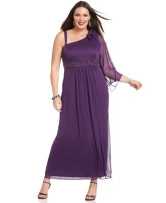 onyx plus size dress, three quarter sleeve beaded empire waist