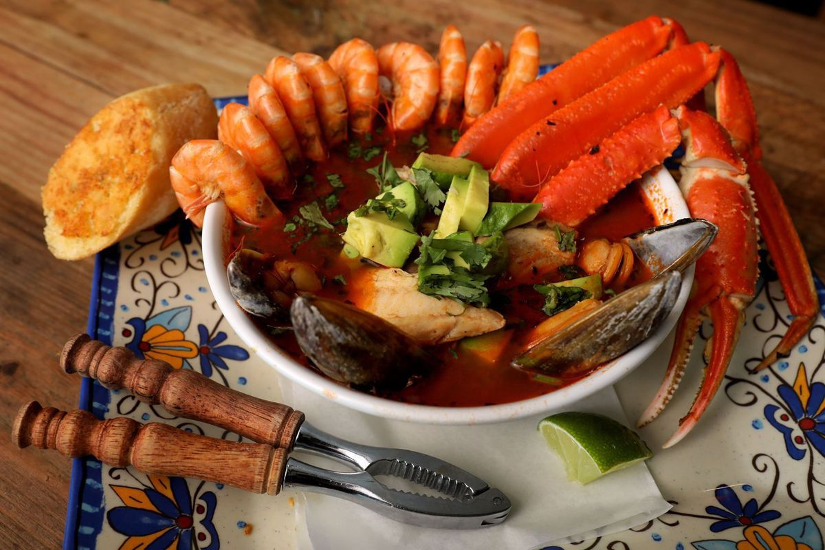 I Want To Eat This Right Now Mariscos El Gato On Cherokee In St Louis