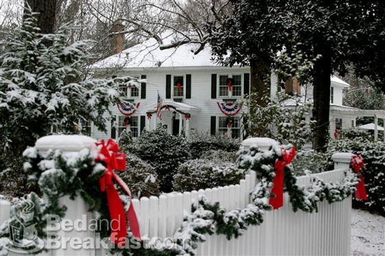 Williamsburg, Virginia during December.