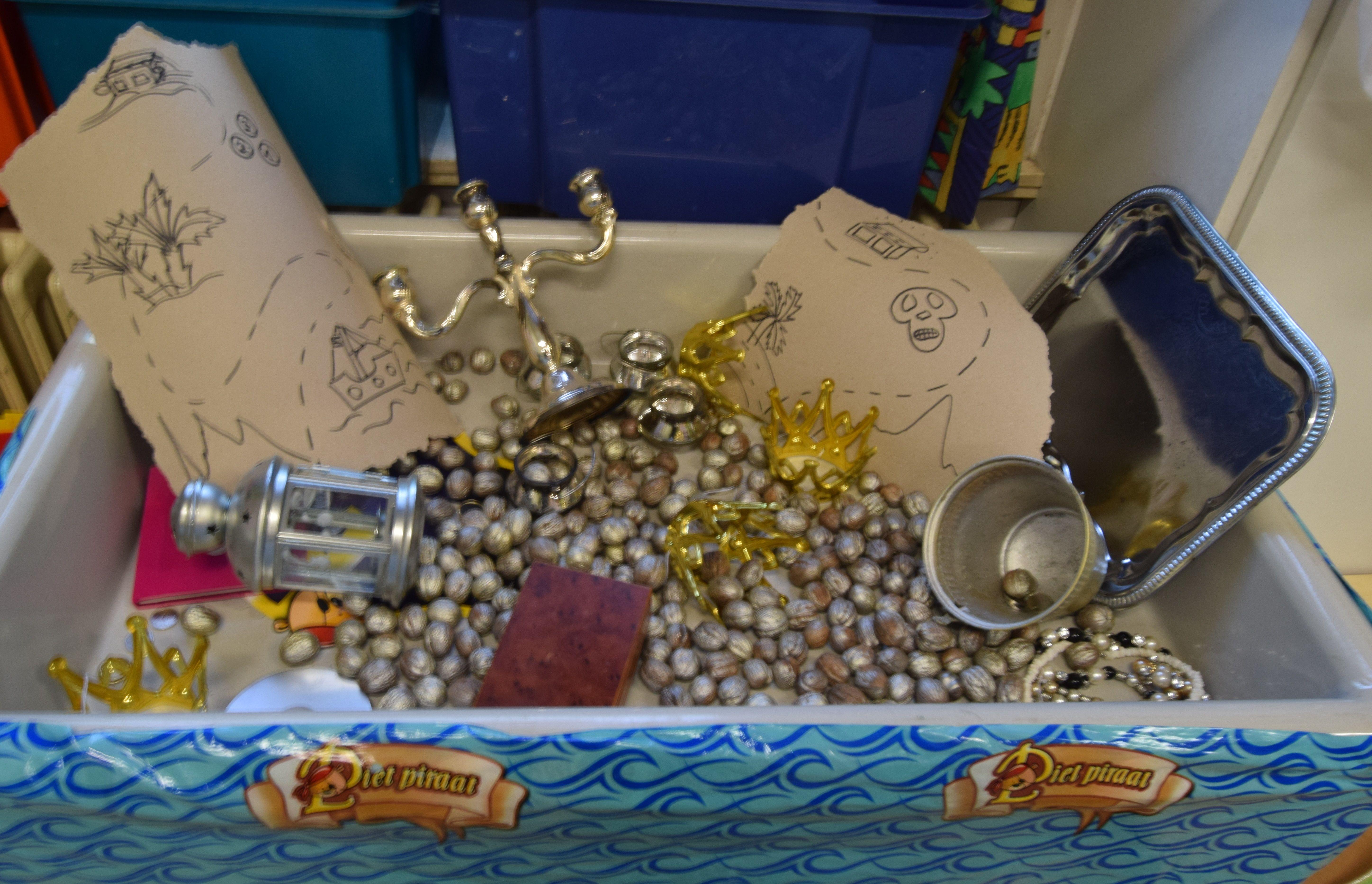 Schatkamer Van De Piraat Piraten Thema Kleuterklas