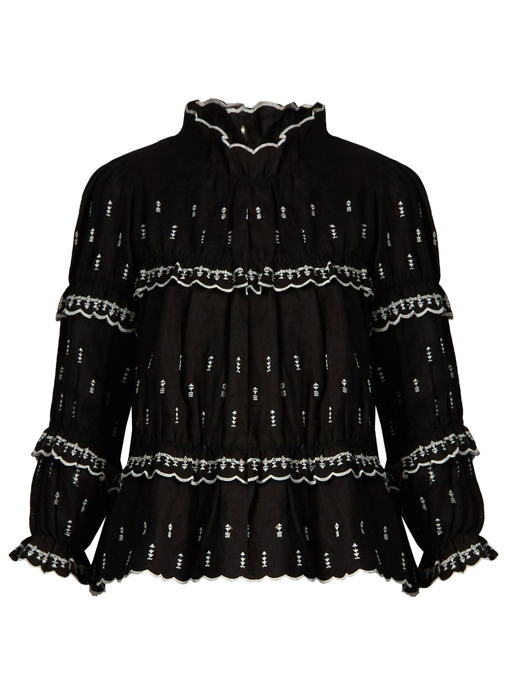 4420d090f63c7 Saint Laurent Metallic striped silk-blend chiffon shirt (£1