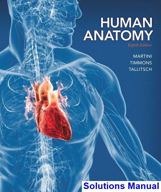 Human Anatomy 8th Edition Martini Solutions Manual Test Bank