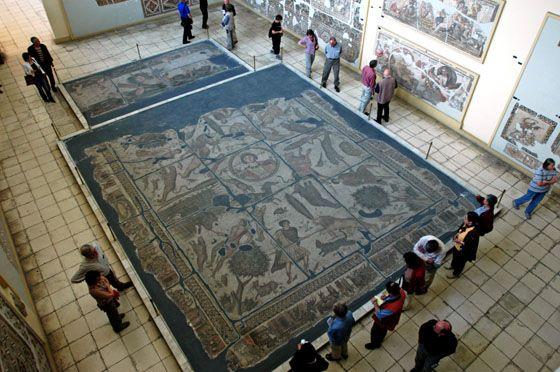 Turkey, Hatay Antakya Mosaic Museum