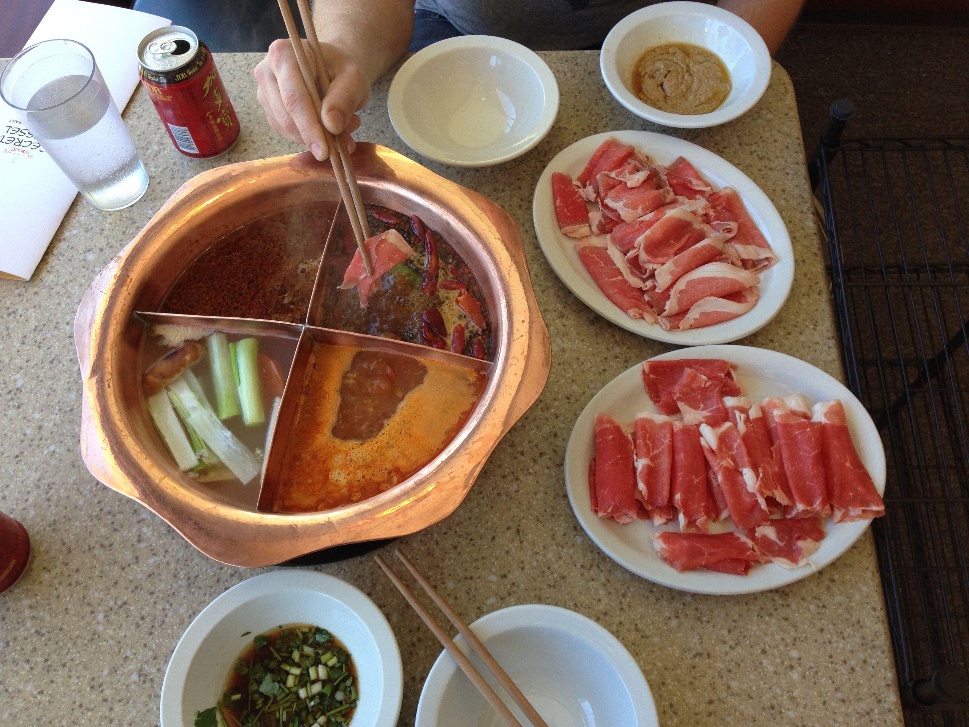 Secret Vessel Foodie Chinese Restaurant Hot Pot