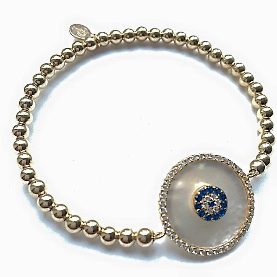 PEARL ROUND FLOWER 💙  Like als je deze armband zou willen dragen!  Online te bestellen via deze link: http://www.pscallme.nl/collection/pscallme/armbanden/pearl-round-flower.html