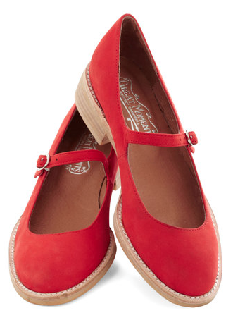 peppermint red mary jane flats  http://rstyle.me/n/b84ntpdpe