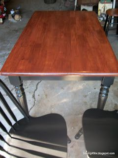 Merveilleux Refinished Table Top  Sand, Condition, Stain, Seal With Poly, Danish Oil  And Furniture Wax