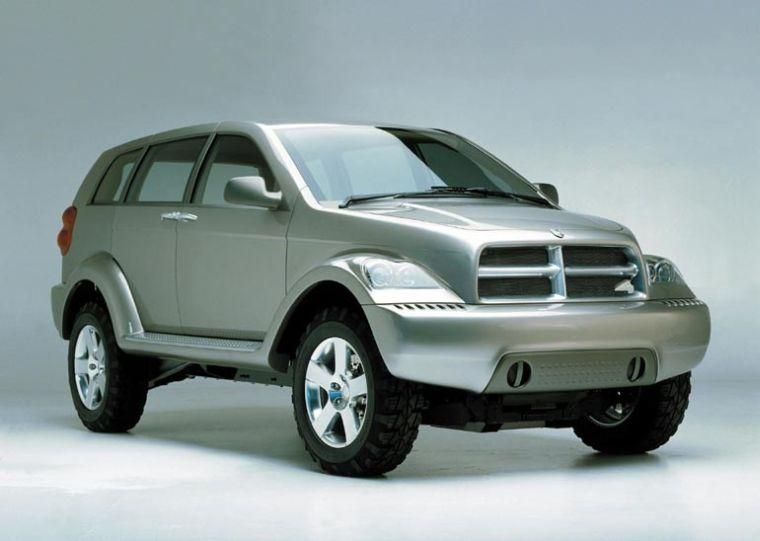 Front Right 2001 Dodge Box Hybrid Suv Picture