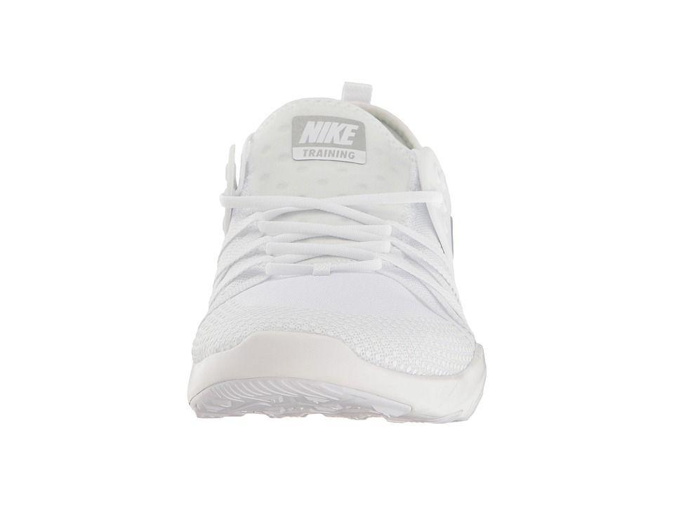 d2666e5ddc0c Nike Free TR 7 Women s Cross Training Shoes White Metallic Silver ...