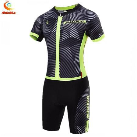 Women Triathlon Skinsuit Cycling Clothing MTB Road Bike Bicycle Jersey  Racing Team One-Piece Short Sleeve Jumpsuit a8e6c2f75