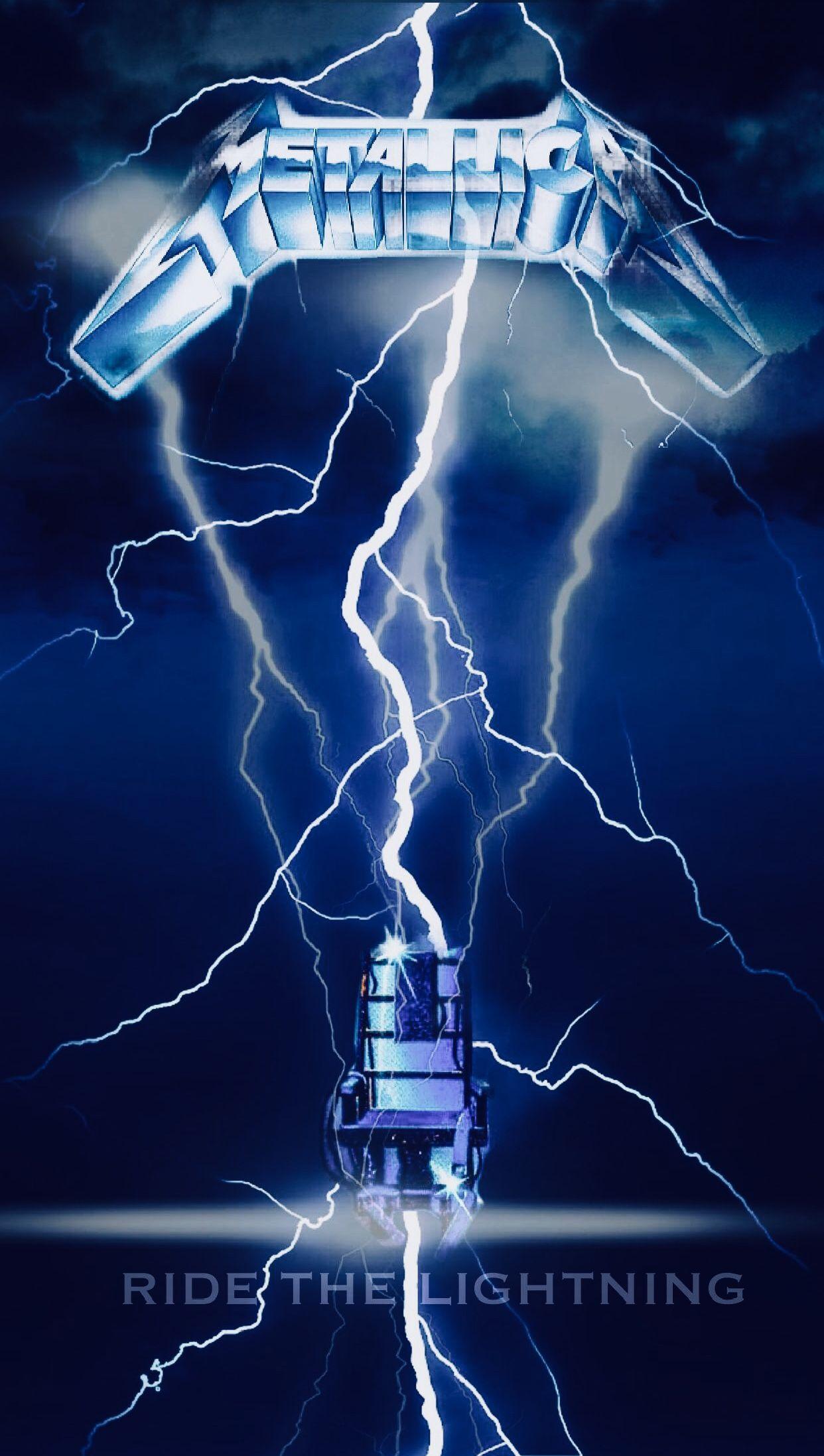 Ride The Lightning Metallica FanArt Album Cover Made by ...