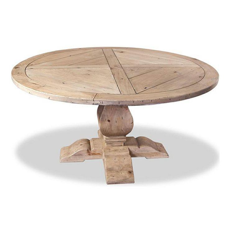 Impressive Design Rustic Round Dining Table Fun Rustic Wood Round