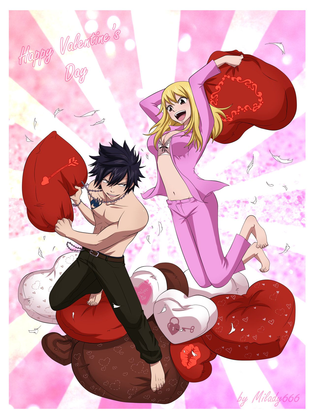 Anime Valentine S Day Happy Valentine S Day By Milady666 On