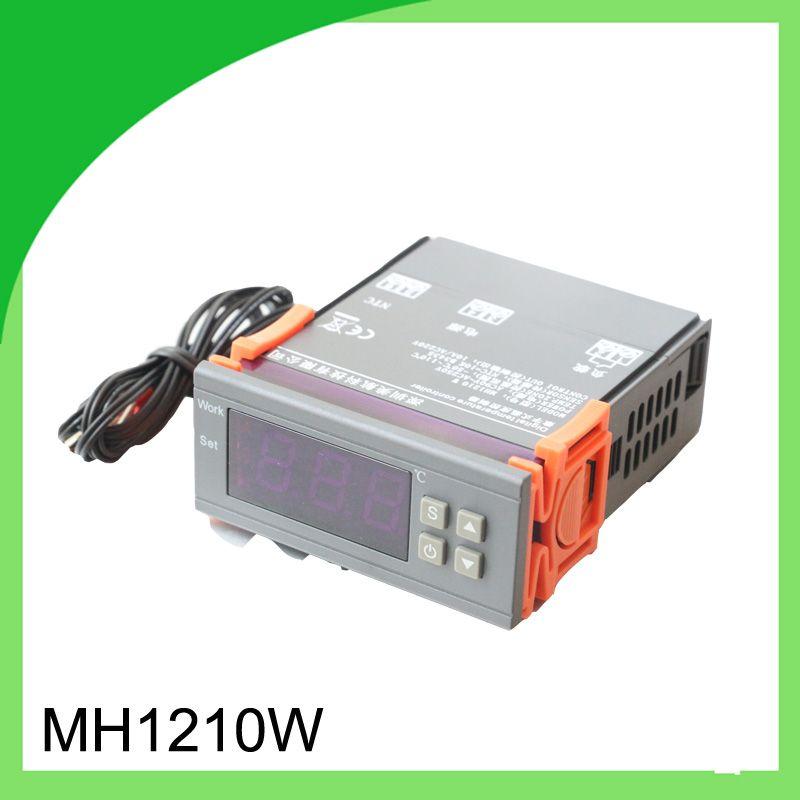 1pcs Digital Temperature Controller Mh1210w 90 250v 10a 220v