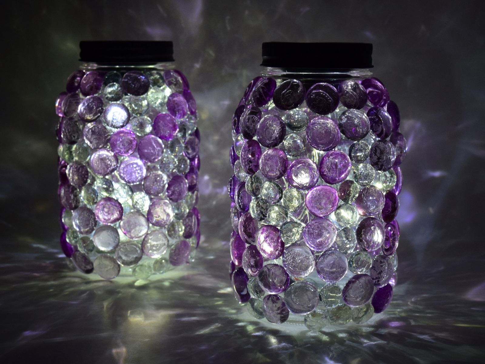 Aleene's Glue Products | Craft & DIY Project Adhesives - Glittering Gem Mason Jars Lights