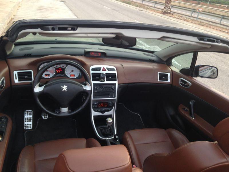 Peugeot 307cc Interior Autos Modificados Peugeot Autos Y Motos