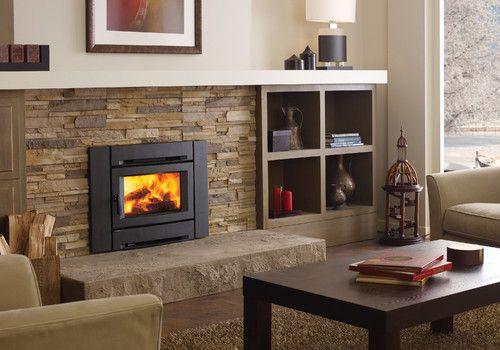 Regency Alterra Ci1250 Wood Fireplace Insert Contemporary