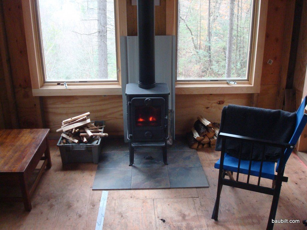 Very Small Wood Stove | The Morso 1410 (aka Squirrel) installed and keeping  the - Very Small Wood Stove The Morso 1410 (aka Squirrel) Installed
