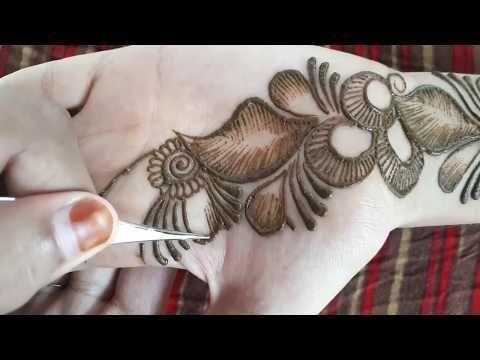 New Beautiful Arabic Mehndi Design || Easy Simple Mehndi Design for Hand || mehndi designs