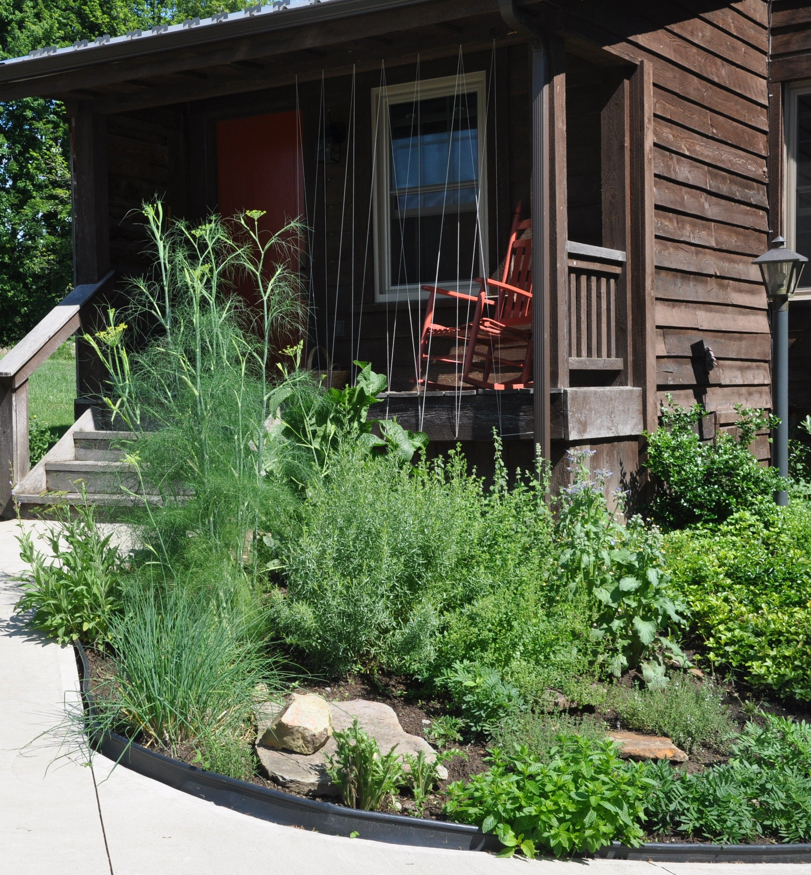Kitchen Herb Garden Design: Kitchen Herb Garden. Granny Miller Journal Of Agrarian
