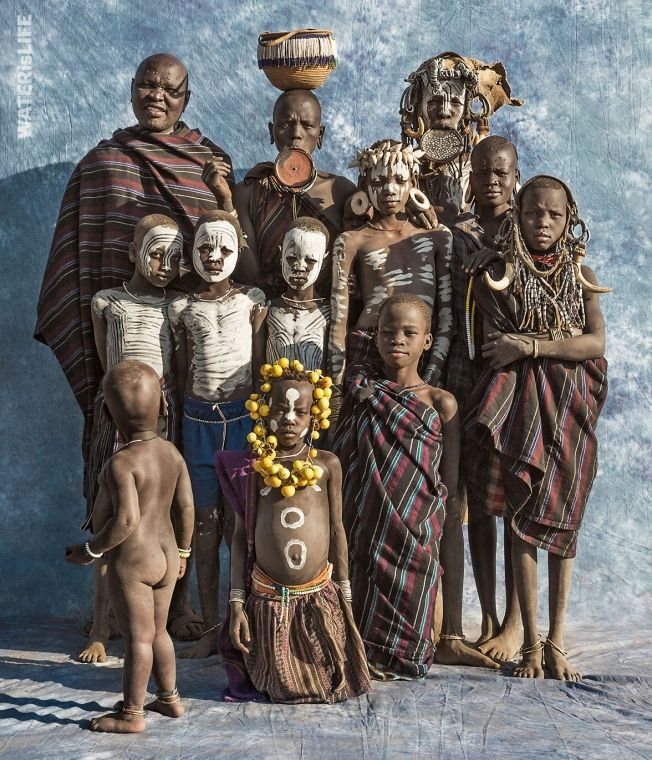 Ethiopia - de Hamar gemeenschap - Afrikaanse stammen