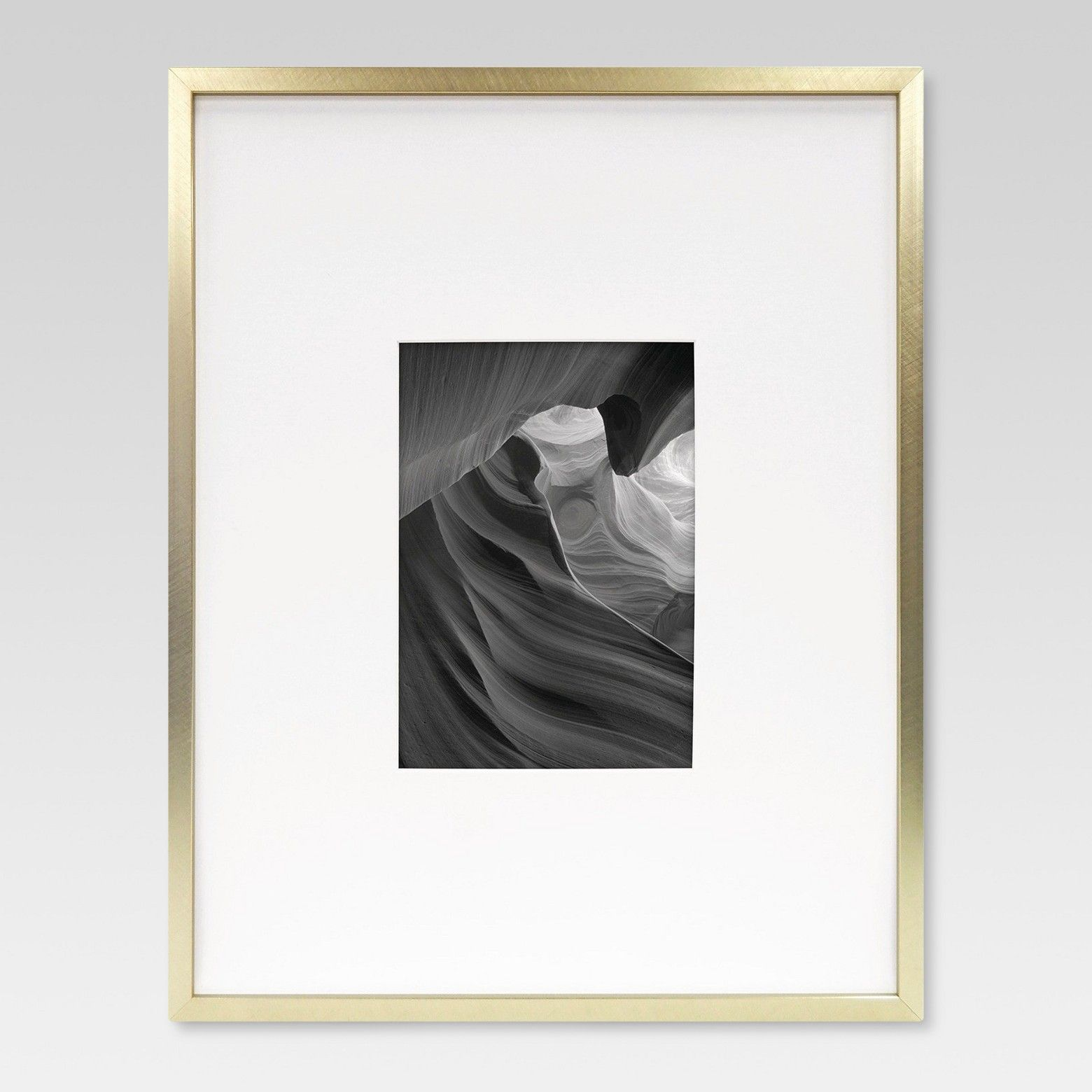 Project 62 Metal Frame - Brass - Matted Photo