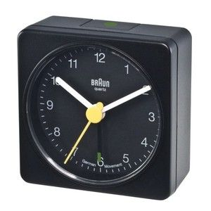 Braun Travel Alarm Clock Square , Genuine Braun Black Classic Design BNC002BKBK - Necesito uno IGUAL a ESTE... ¿Dónde puedo conseguir uno?