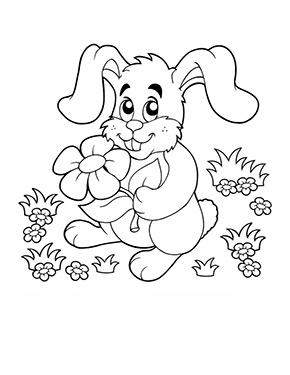 Ausmalbild Osterhase Im Gras Malvorlagen Ostern Malvorlage Hase Malvorlagen Fruhling