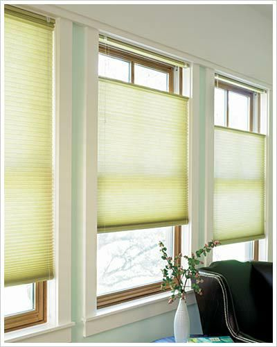 Honeycomb Shades Insulate Your Windows The Top Down