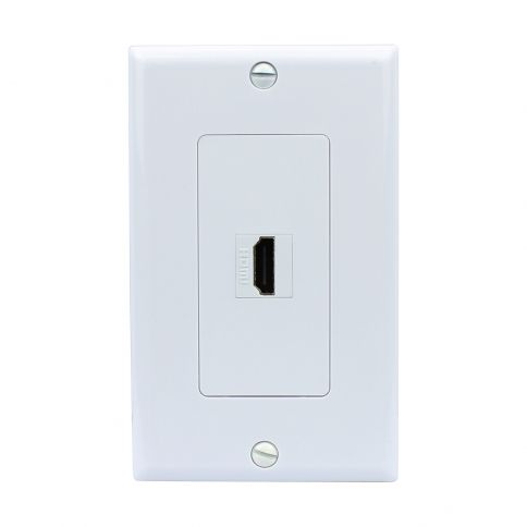 New Easy Installation 3 Port Coax Cable Tv F Type Wall Plate Plates On Wall Wall Cable Tv