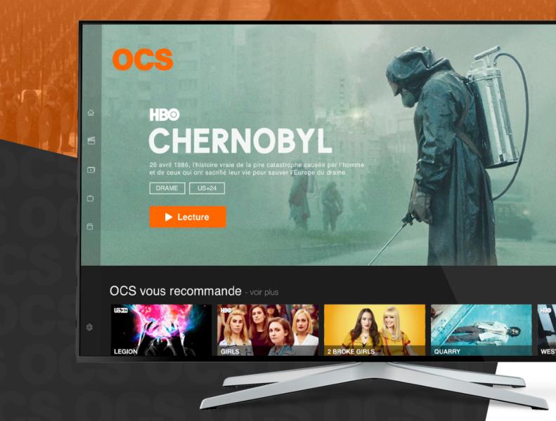 Ocs Smart Tv App Redesign Tv App Smart Tv Tv