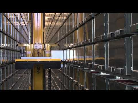 ▷ Macquarie University Library - Automated storage and