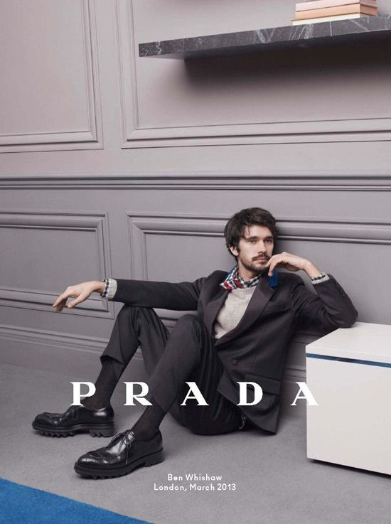 4c120e5761e4 Christoph Waltz, Ezra Miller and Ben Whishaw for Prada Fall 2013 Ad Campaign    Tom   Lorenzo Fabulous   Opinionated
