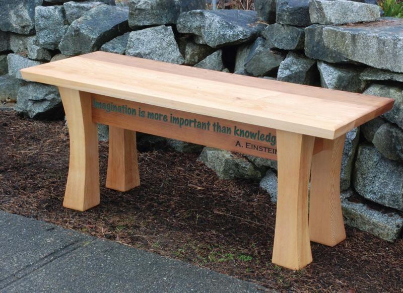 Cedar Garden Bench Canadian Woodworking Magazine Garden Bench