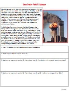 1st Amendment Current Event Case Stu S Common Core Ready Teacherspayteachers Com