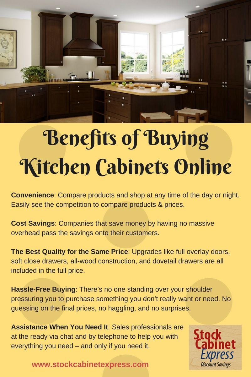 The Benefits Of Buying Kitchen Cabinets Online Online Kitchen
