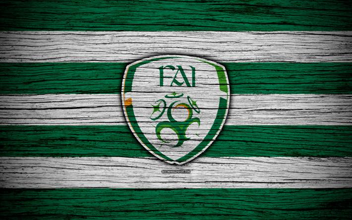 Descargar Fondos De Pantalla 4k Irlanda Del Equipo De Futbol Nacional El Logotipo La Uefa Europa De Futbol De Madera De Textura Futbol Irlanda Los Pais Futbol Nacional Equipo De Futbol