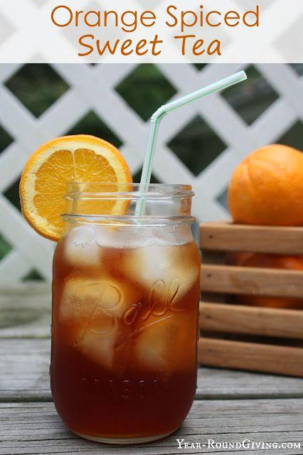 Orange Spiced Tea #falldrinks