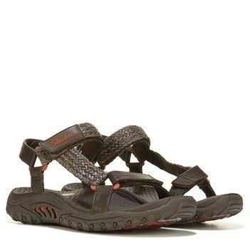 Skechers Reggae Misty Morning Sandal Chocolate | Skechers