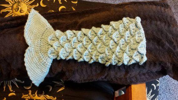 Mermaid Tail Blanket PATTERN ONLY | Stricken und häkeln, Muster und ...