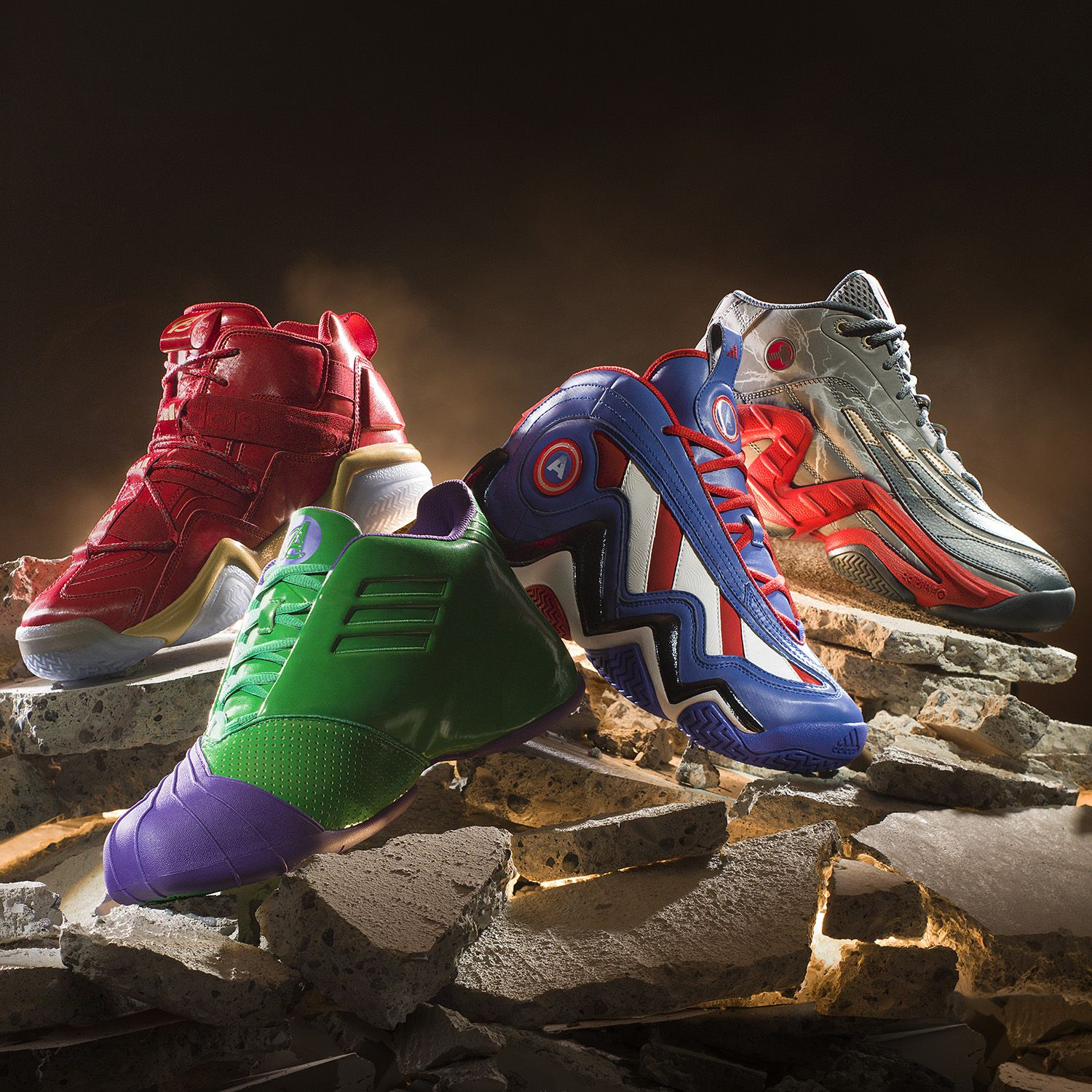 Marvel Joins Forces with adidas for