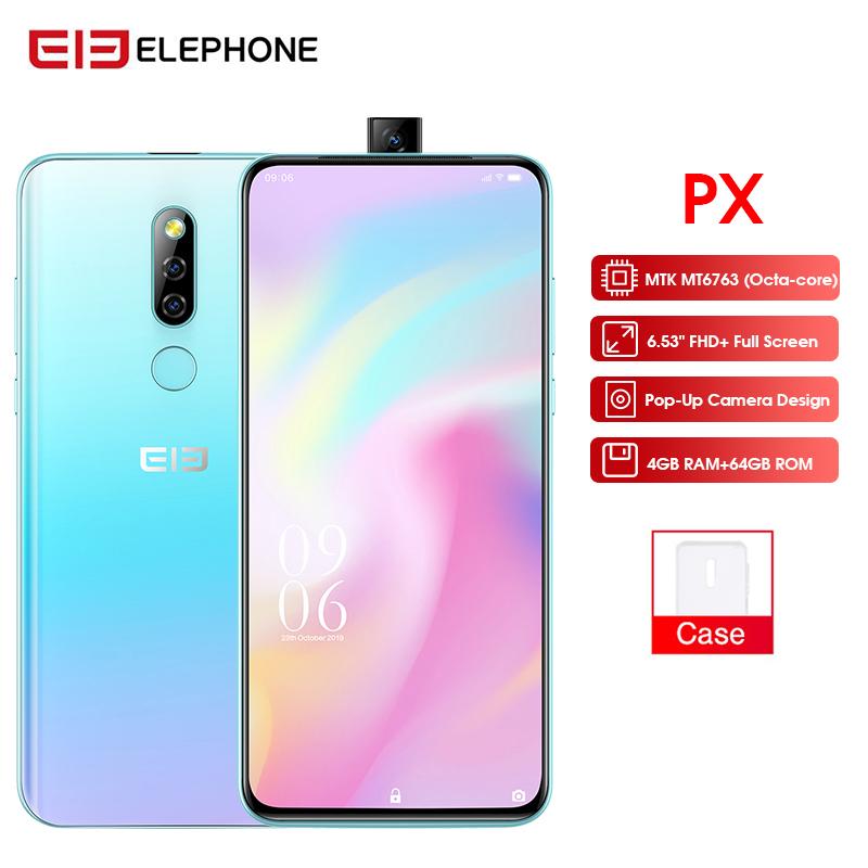 "Elephone PX 6.53"" FHD+ Full Screen 16MP PopUp Camera"