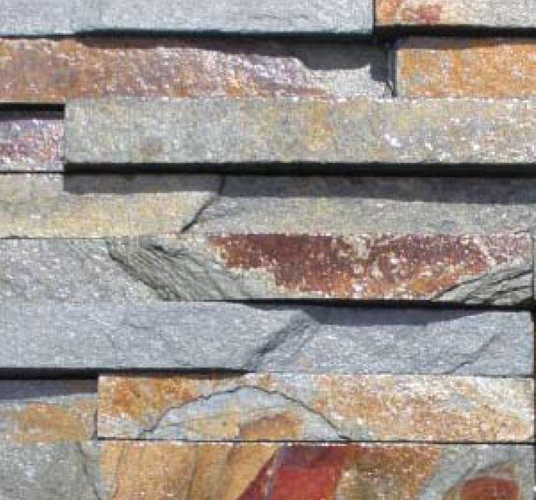 Piedra laja oxidada dimensionada la cantera materials - Piedra verde limpieza ...