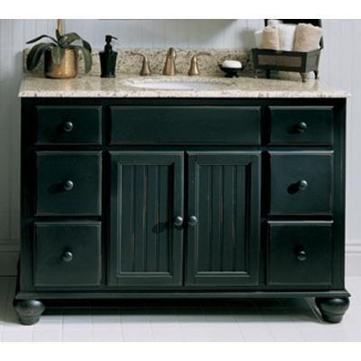 Distressed Black Vanity Cottage Style Distressed Kitchen Cabinets Fairmont Designs Kichen Cabinets
