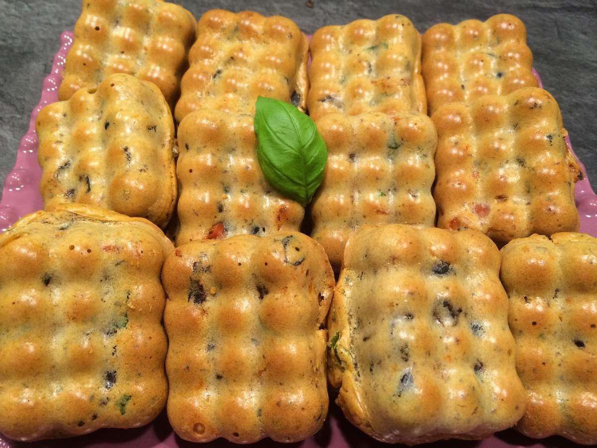 Petits cake olives tomates s ch es basilic recette flexipan guy demarle conseill re guy - Recette cuisine pour le soir ...
