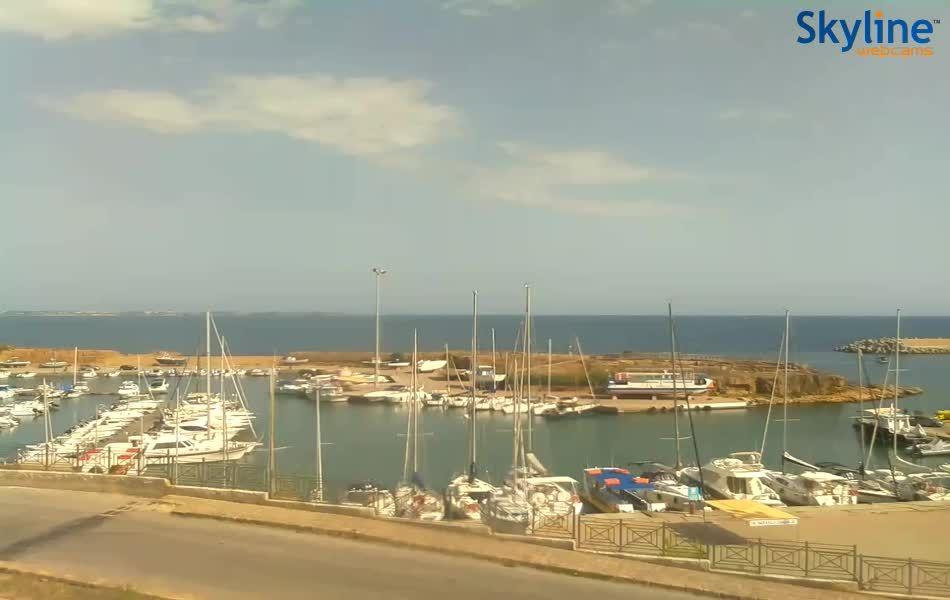 Live Cam Harbour of Le Castella in Isola Capo Rizzuto
