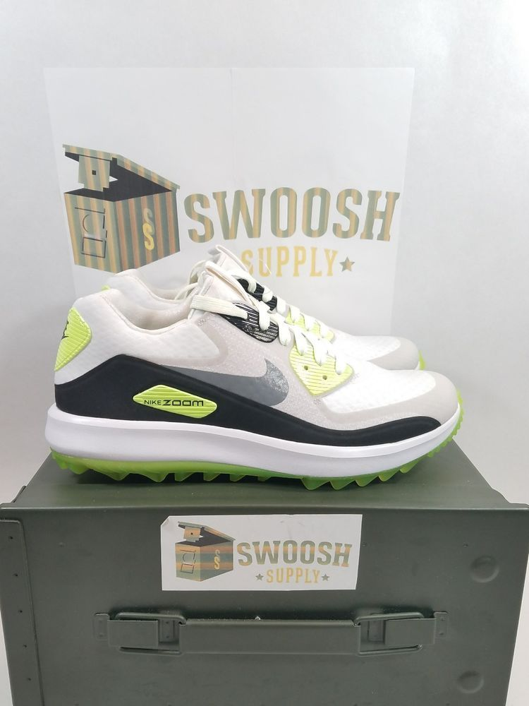 33e6d6f9e5f95 Nike Air Zoom 90 IT Size 11 Pure Platinum Anthracite 844569 004 ...